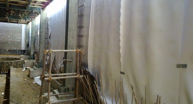 ایزولاسیون وزهکشی گود های ساختمانی